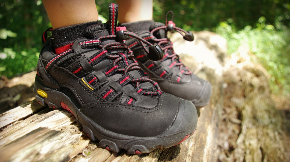Hiking Shoe Midsole and Outsole