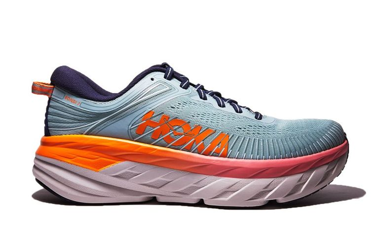 Hoka's Bondi 7 is the most padded shoe